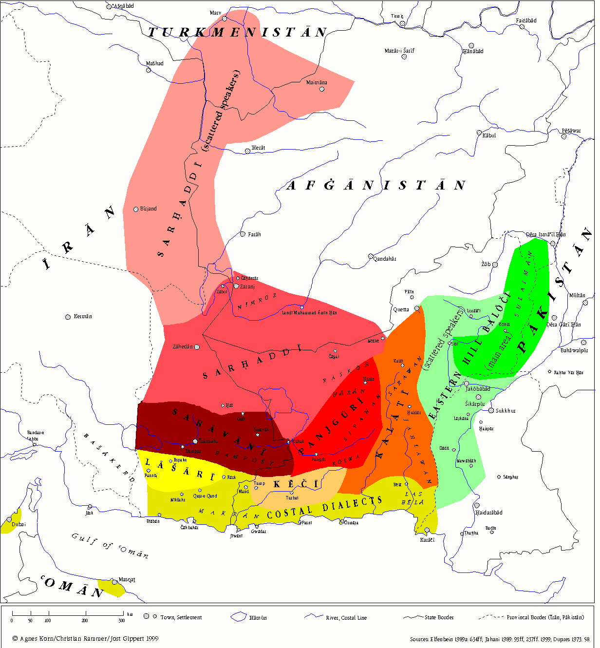 Balochi Dialects